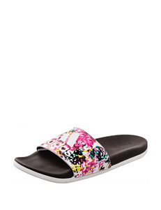 Adidas Black Flat Sandals