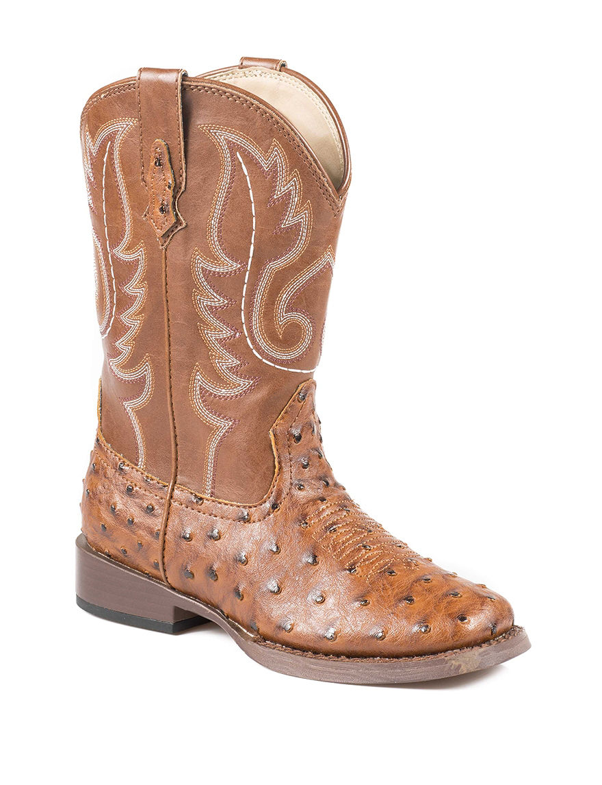 roper bumps western boots boys 9 3 stage stores