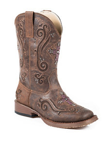 Roper Faith Western Boots –Girls 9-3