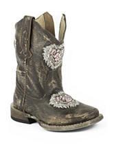 Roper Destiny Western Boots –Toddler Girls 5-8