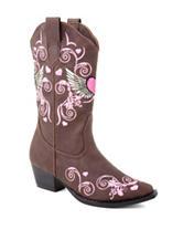 Roper Flying Heart Western Boots –Toddler Girls 5-8