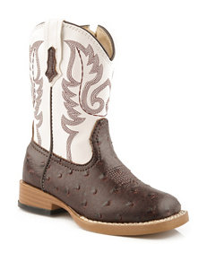 Roper Bumps Western Boots –Toddler Boys 5-8