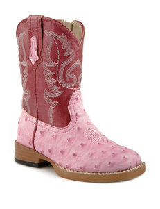 Roper Bumps Western Boots –Toddler Girls 5-8
