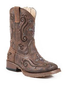 Roper Faith Western Boots –Toddler Girls 5-8