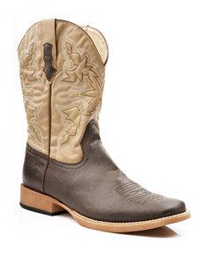 Roper Brown Western & Cowboy Boots