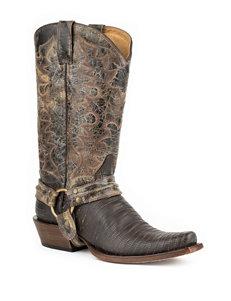 Roper Teju Harness Cowboy Boots