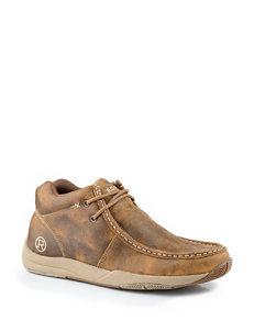 Roper Tan Clear Cut Casual Shoes