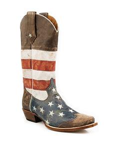 Roper Americana Cowboy Boots
