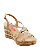 Jellypop Hawaii Wedge Sandals