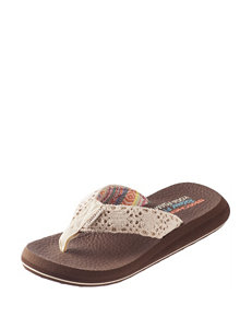 Skechers Natural Flip Flops
