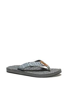 Muk Luks Scotty Thong Sandals