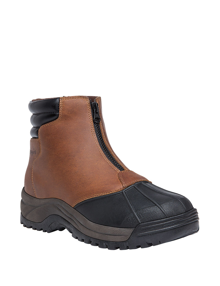 Propet Brown Rain Boots Winter Boots