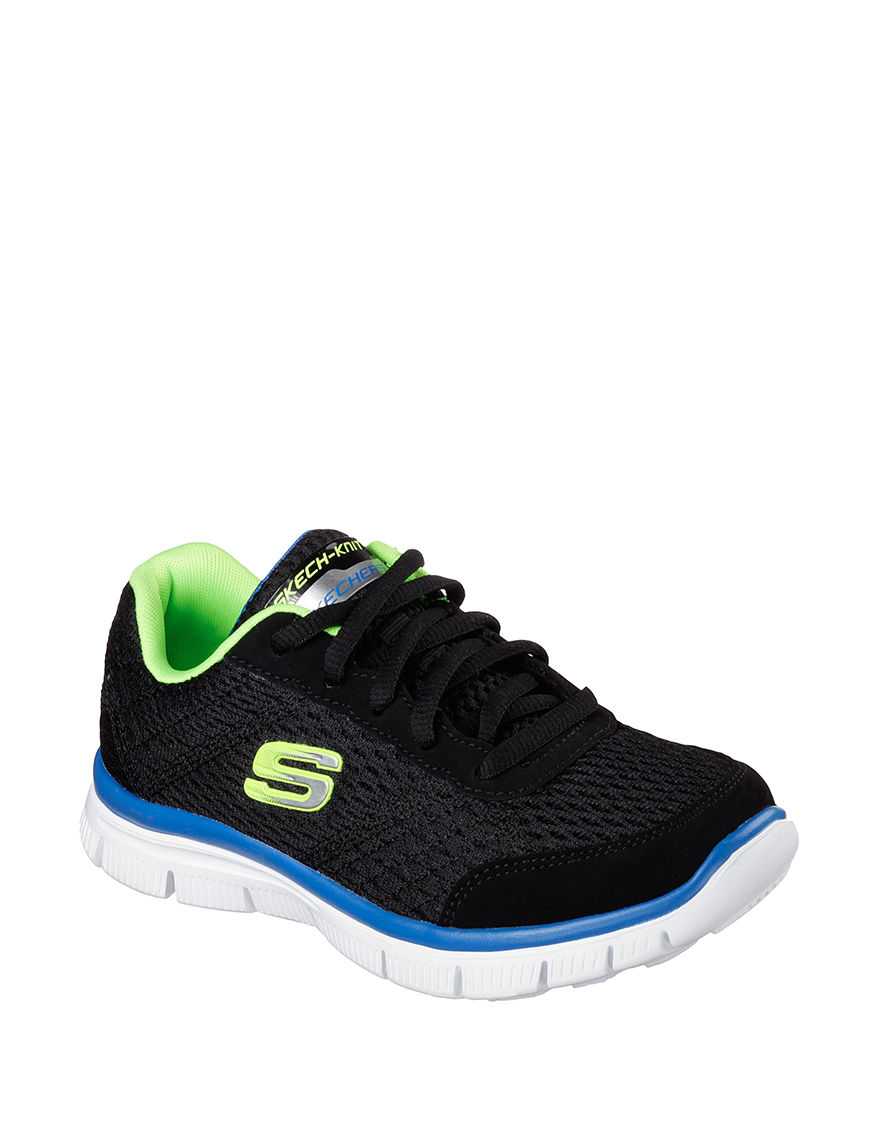 Skechers Black / Lime