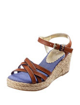 Tommy Hilfiger Anastasia Wedge Sandals – Girls 11-4