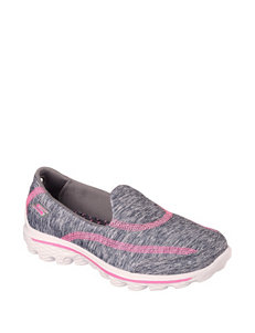 Skechers GOwalk 2 Relay Slip-on Shoes – Girls 11-5