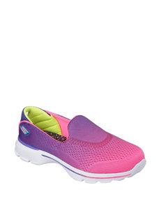 Skechers GO Walk 3 Slip-on Shoes – Girls 11-5