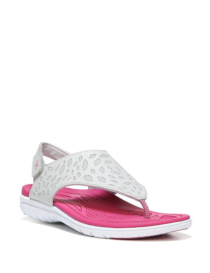 Ryka Grey / Pink Sport Sandals