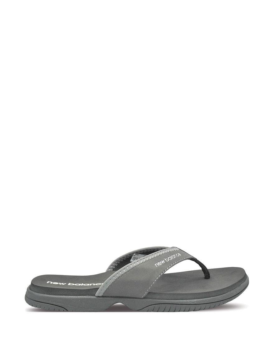 New Balance Black Sport Sandals