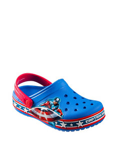 Crocs Captain America Clogs – Toddler Boys 6-12