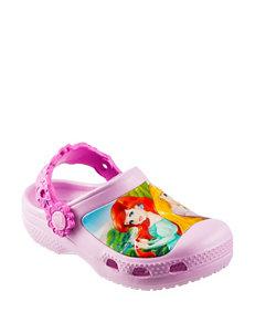 Crocs Princess Friends Clogs – Toddler Girls 6-12