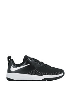 Nike Team Hustle D7 Low Athletic Shoes – Boys 4-7