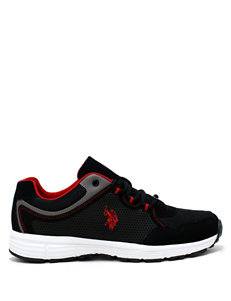 U.S. Polo Assn. Black / Red