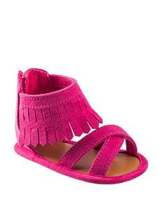 Wee Kids Pink Fringe Crib Shoes – Baby 1-3