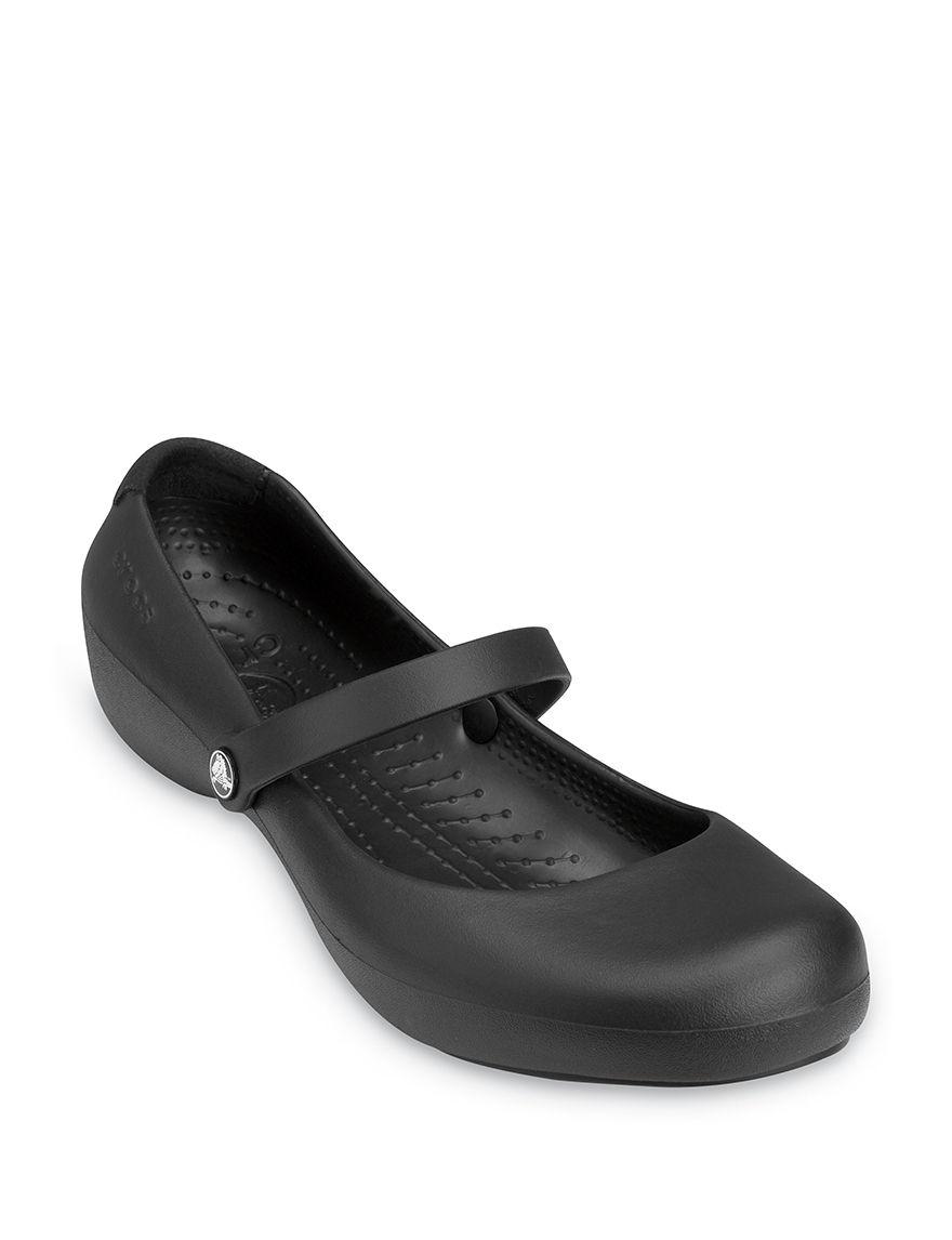 Crocs Black Slipper Shoes