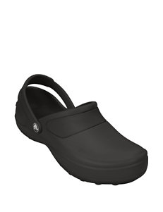 Crocs Black Slipper Sandals