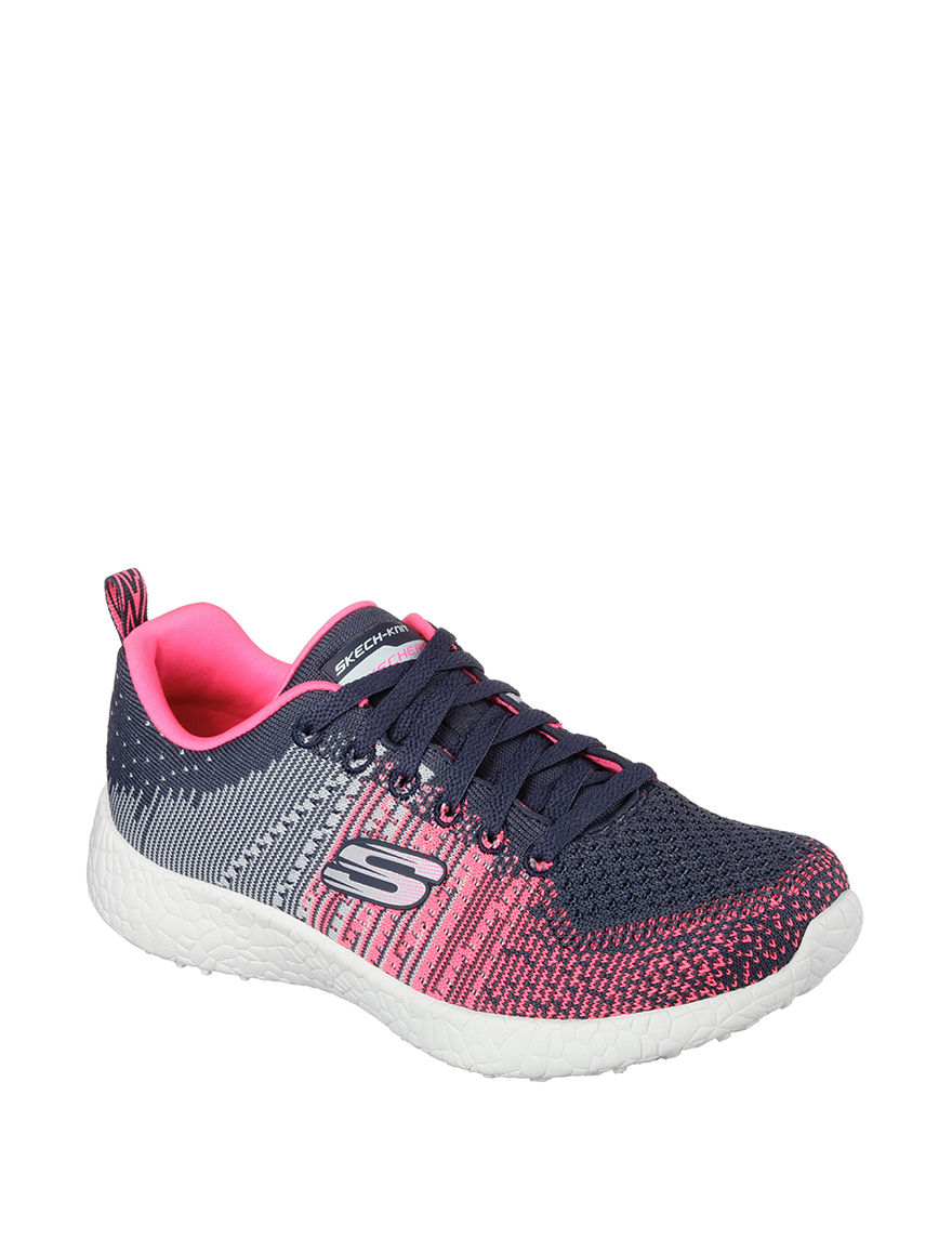 Skechers Grey / Pink