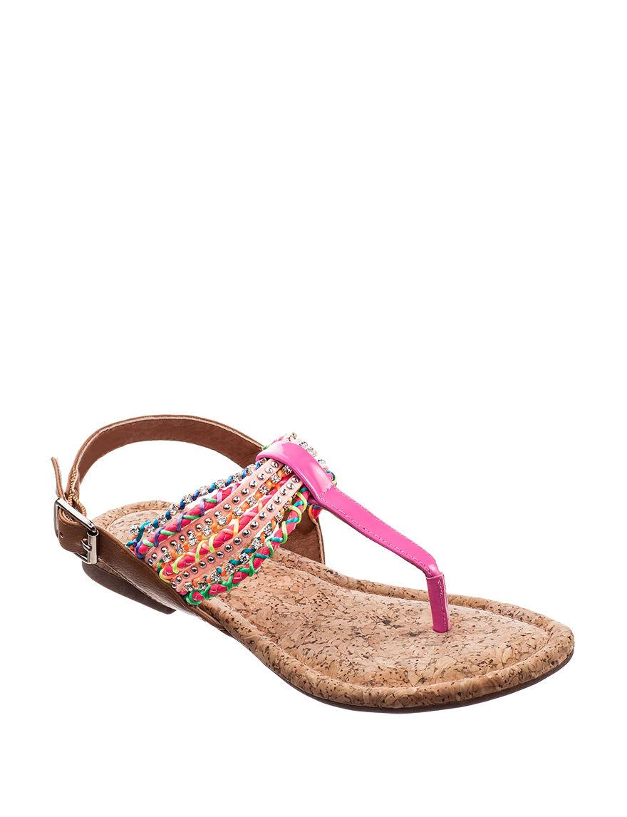 Sugar Pink Flip Flops
