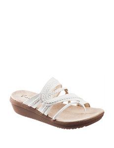 Wear. Ever. White Flip Flops