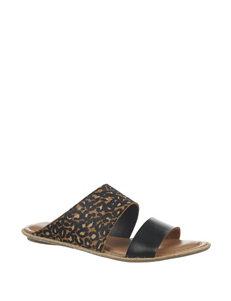 Dr. Scholl's Leopard Espadrille Sandals Flat Sandals