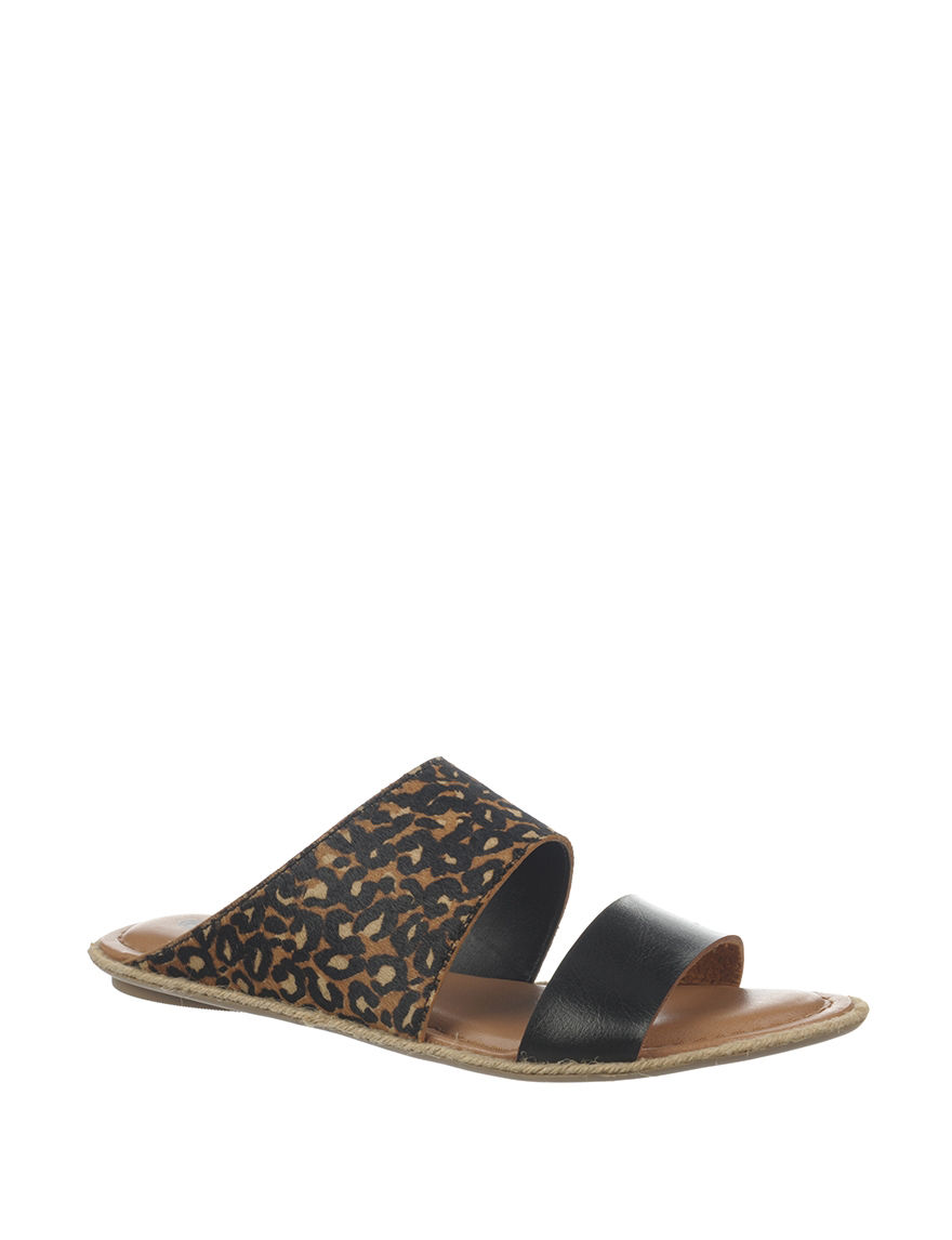 Dr. Scholl's Leopard Flat Sandals