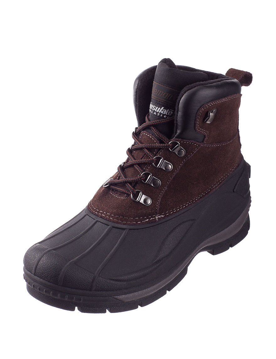Coleman Brown Winter Boots