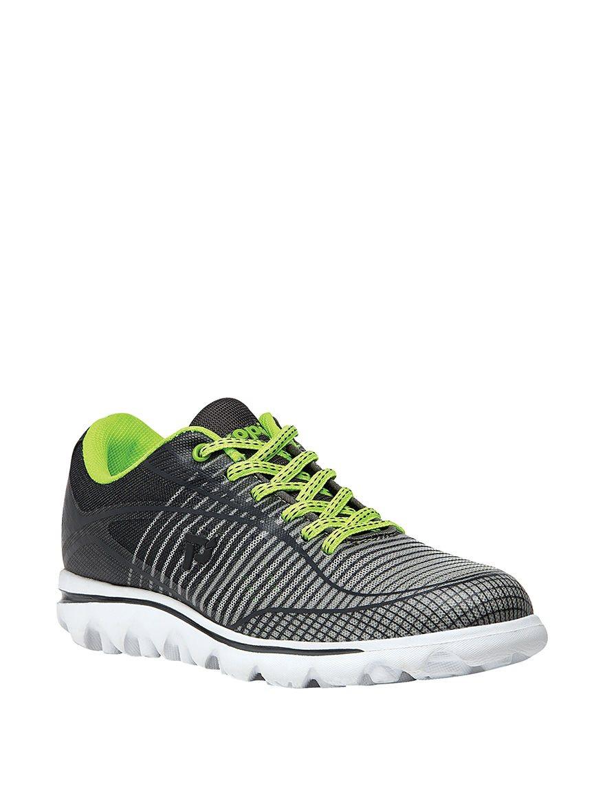 Propet Grey / Lime