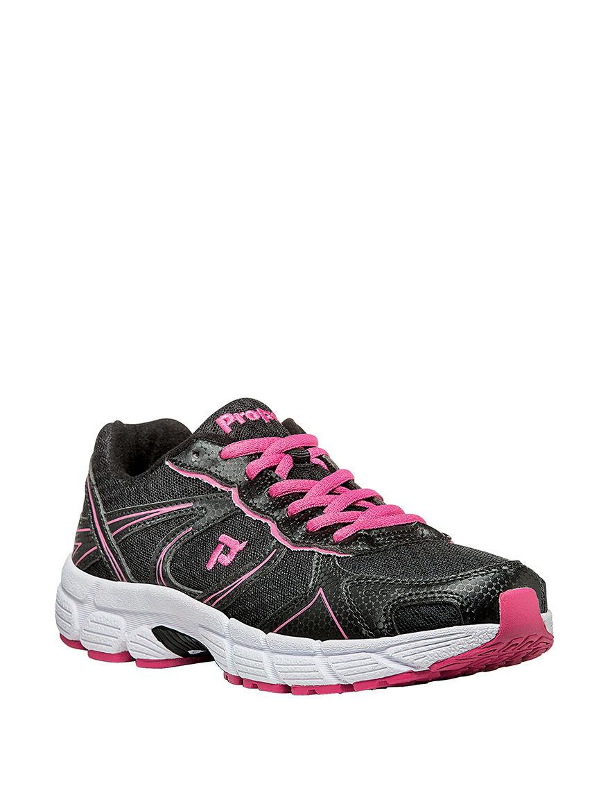 Propet Black / Pink