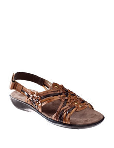 Natural Soul  Flat Sandals