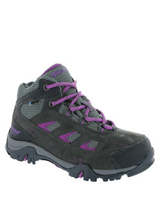 Hi-Tec Logan Jr. Waterproof Hiking Boots – Girls 3-7