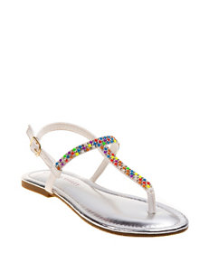 Laura Ashley Luna Sandals – Girls 11-4