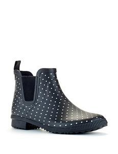 Cougar Black Rain Boots