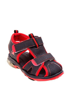 Rugged Bear Micah Light-up Sandals – Boys 11-3