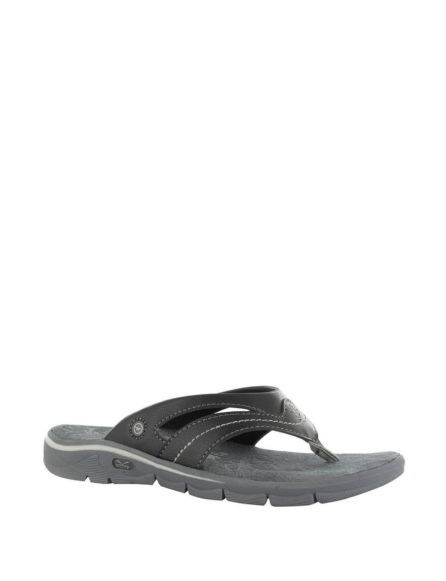 Hi-Tec Black Sport Sandals