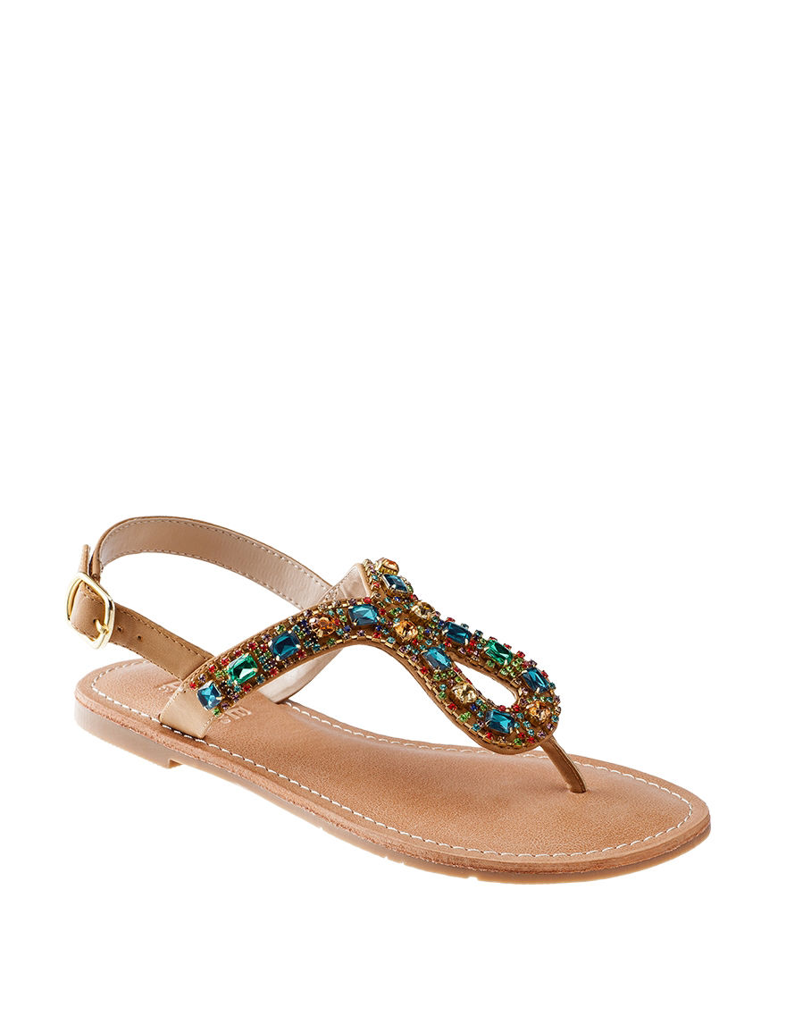 Dolce by Mojo Moxy Brown Multi Flat Sandals