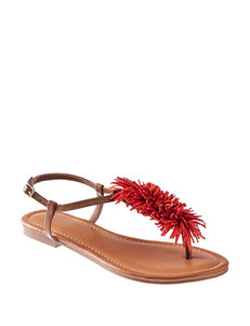 Indigo Rd. Brown Flat Sandals