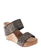 XOXO Britt Wedge Sandals