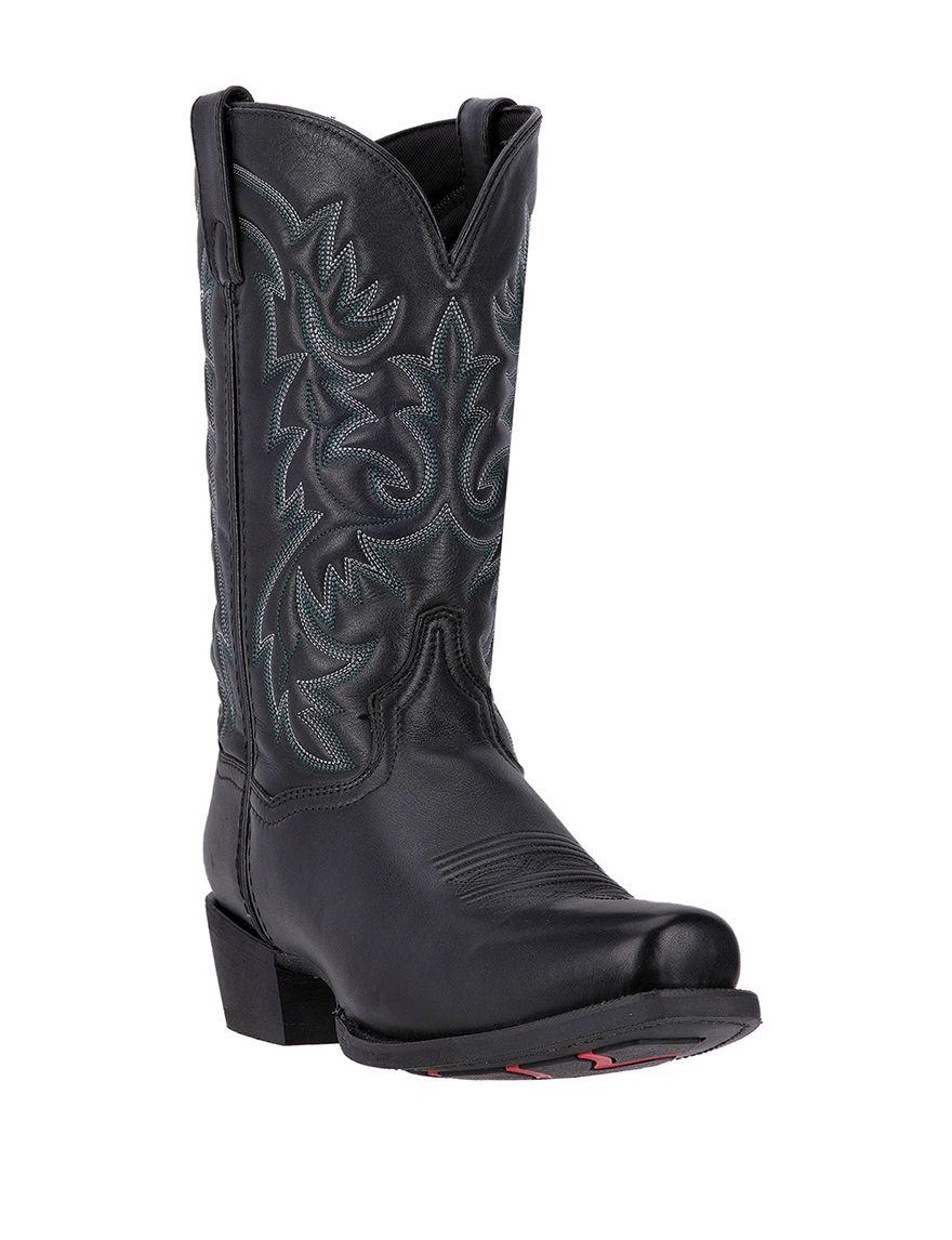 Laredo Black Western & Cowboy Boots