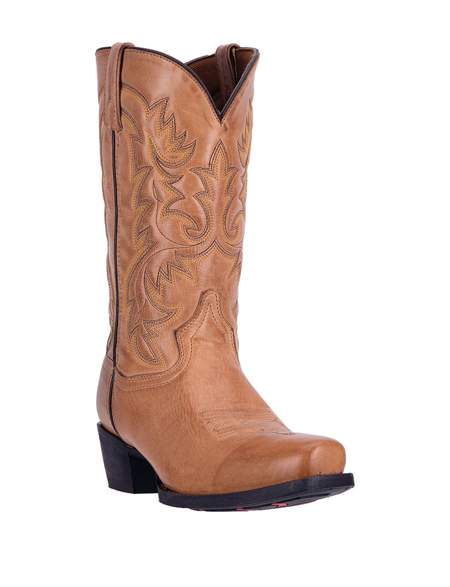 Laredo Antique Tan Western & Cowboy Boots