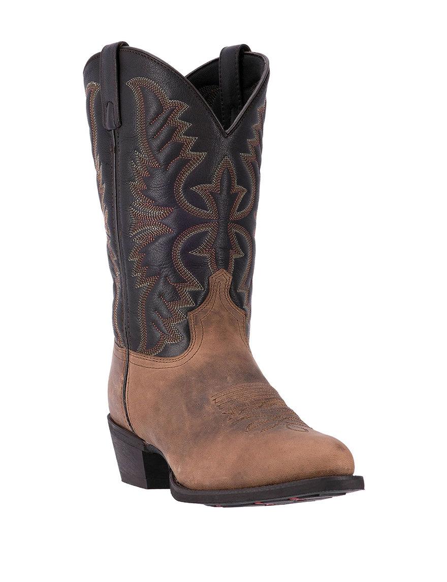 Laredo Tan Western & Cowboy Boots