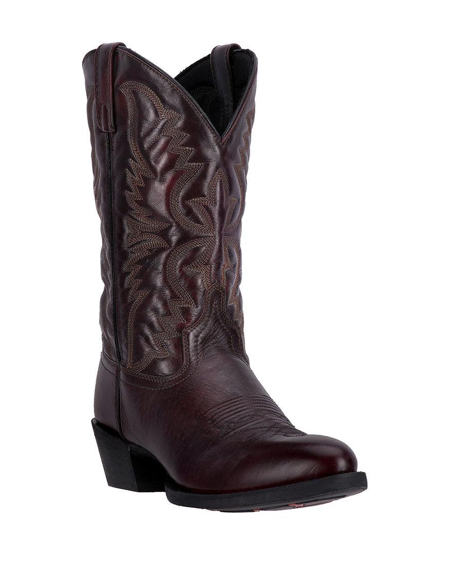 Laredo Black Cherry Western & Cowboy Boots